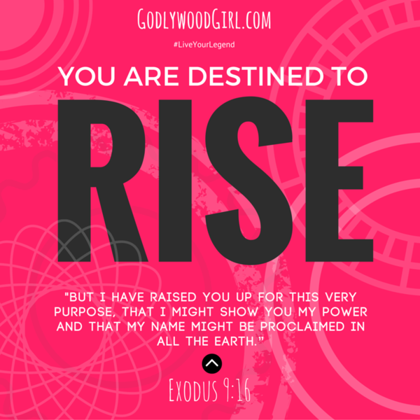 Today's Daily Devotional for Women - You Are Destined to RISE