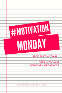 #Motivation Monday Episode 1