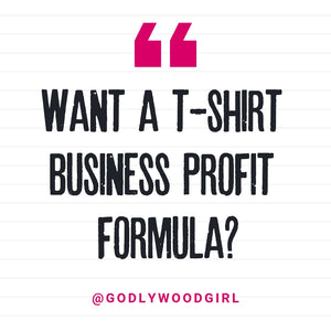 TSHIRT BUSINESS PROFIT || (Creating A Clothing Line, T-Shirts To Sell For Profit, T-Shirt Business)