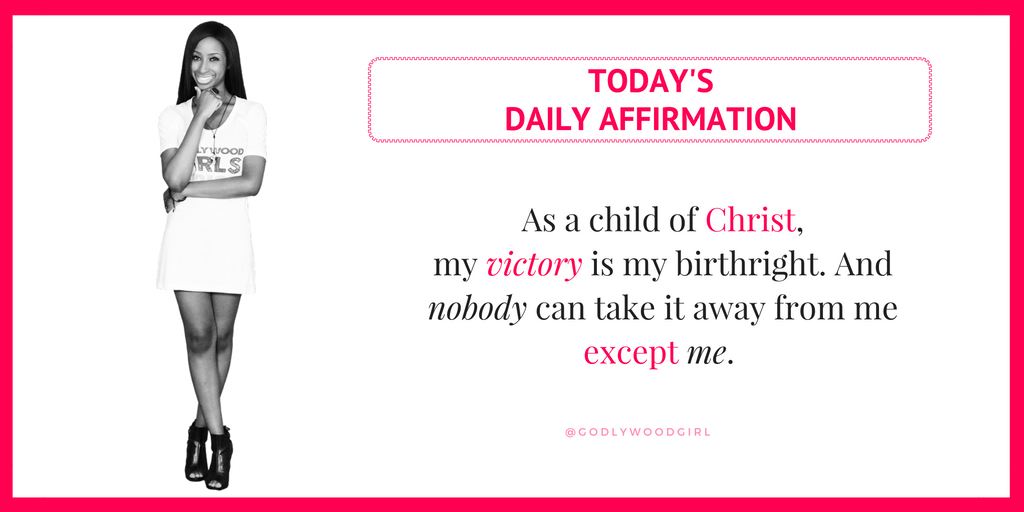 Today's Daily Affirmation Statement for Women