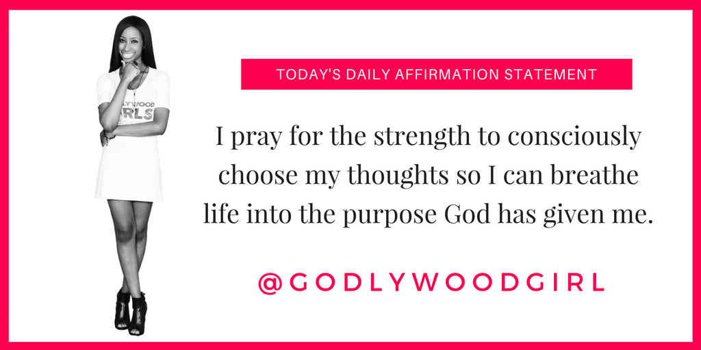 Godlywood Girl's Daily Affirmation Statement