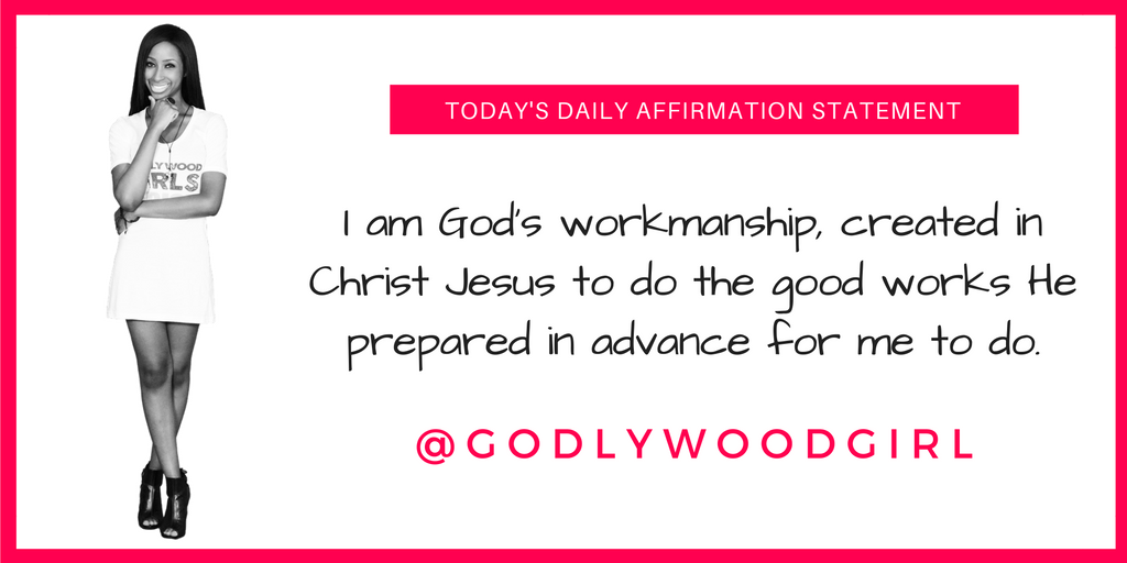 Godlywood Girl Daily Affirmation