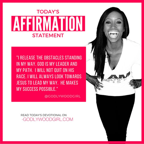 Godlywood Girl Affirmation Statement