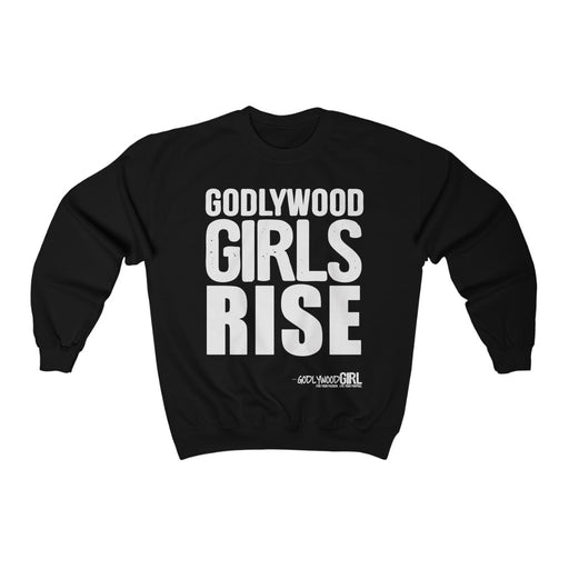 Godlywood Girls RISE - Unisex Heavy Blend™ Crewneck Sweatshirt
