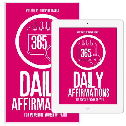 365 Daily Affirmations For Powerful Women Of Faith eBook (Digital Product Only)