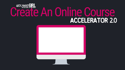 Create An Online Course Accelerator 2.0 (Live Coaching Program)
