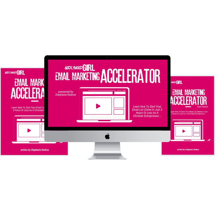 Godlywood Girl Launch Your Email List Accelerator (Digital Product Only)