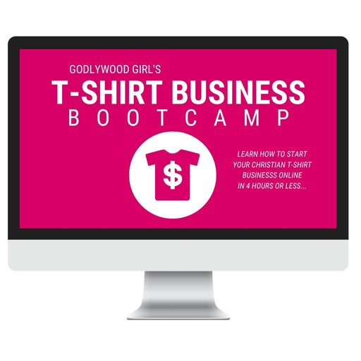 T-Shirt Business Bootcamp (4-Hour Live Virtual Coaching Program - Saturday, March 20th from 12pm EST to 4pm EST)