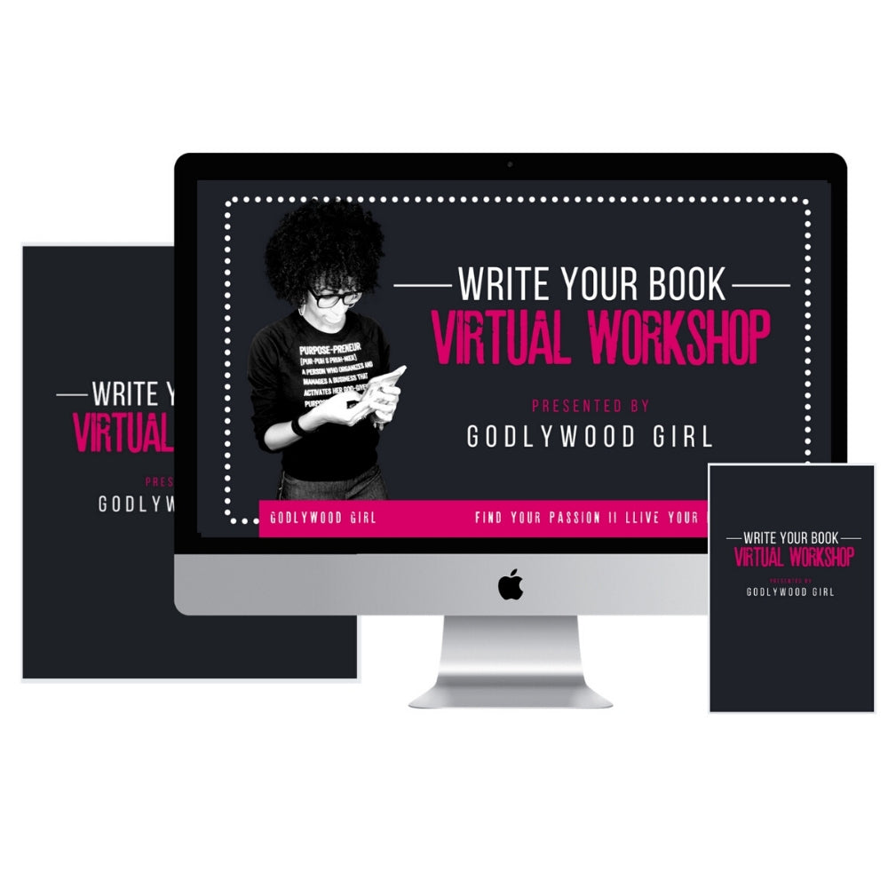 "Godlywood Girl's ""Write Your Non-Fiction Book"" Virtual Workshop (Digital Product Only)"