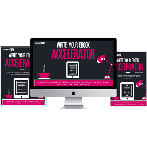 Godlywood Girl Write Your eBook Accelerator | 5-Day Coaching Program (November 2-November 6, 2020)