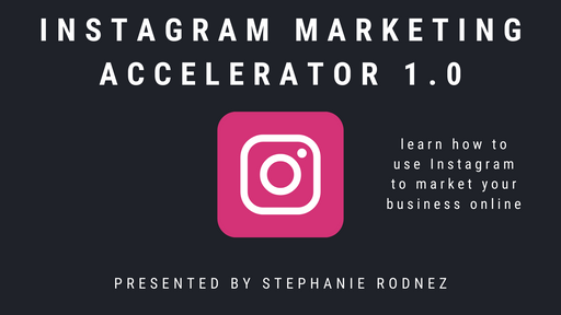 Instagram Marketing Accelerator 1.0 (Digital Product Only)