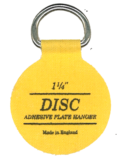 Flatirons Disc Adhesive Plate Hanger, 1.25-inch