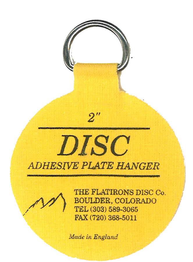 ... Flatirons Disc Adhesive Plate Hangers set of four 2-inch hangers  sc 1 st  HANG4LESS & Flatirons Disc Adhesive Plate Hangers set of four 2-inch hangers ...