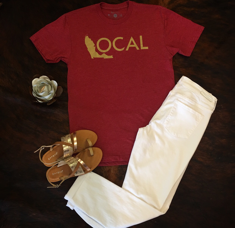 Garnet and Gold Local Tee