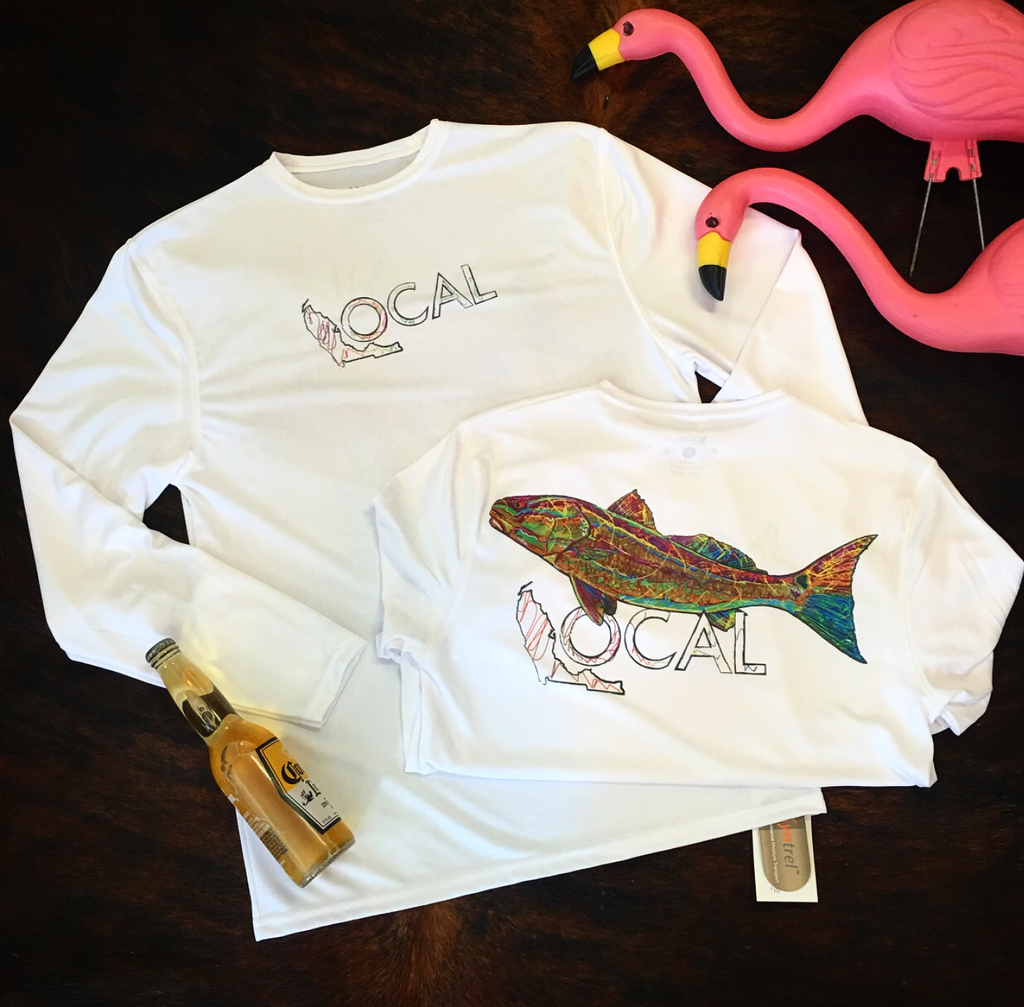 Local Performance Shirt (Redfish)