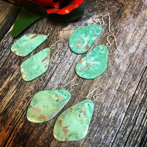 Medium Green Turquoise Slabs