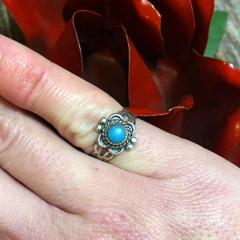 Vintage Size 3.5 Pinky Ring