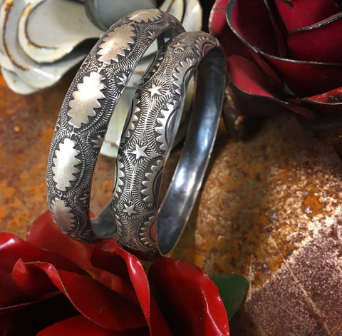 Stamped Bangles