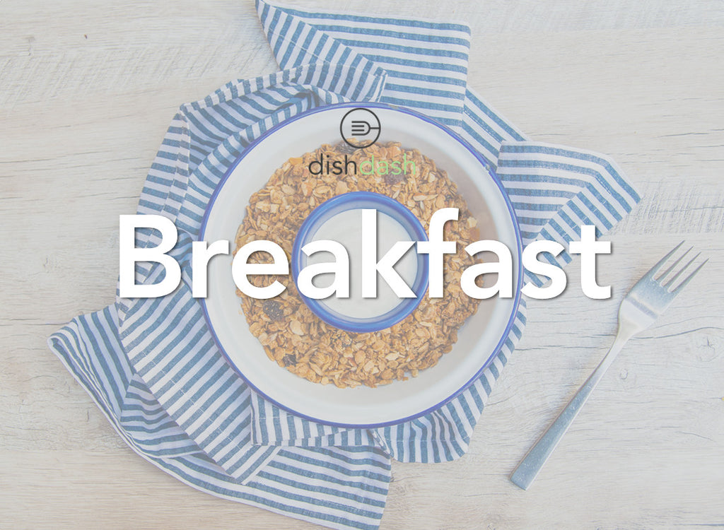 DishDash Breakfast menu