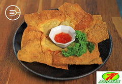 Fried Dumpling (5 pcs) (HALAL)