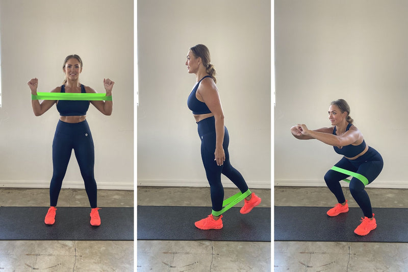 Resistance band exercises you can do at home for a full body workout