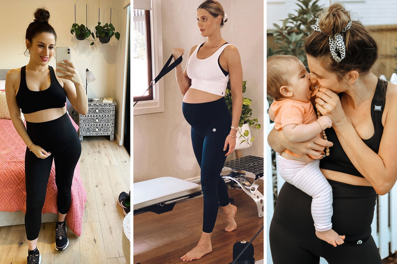 Maternity activewear tights buying guide for pregnancy