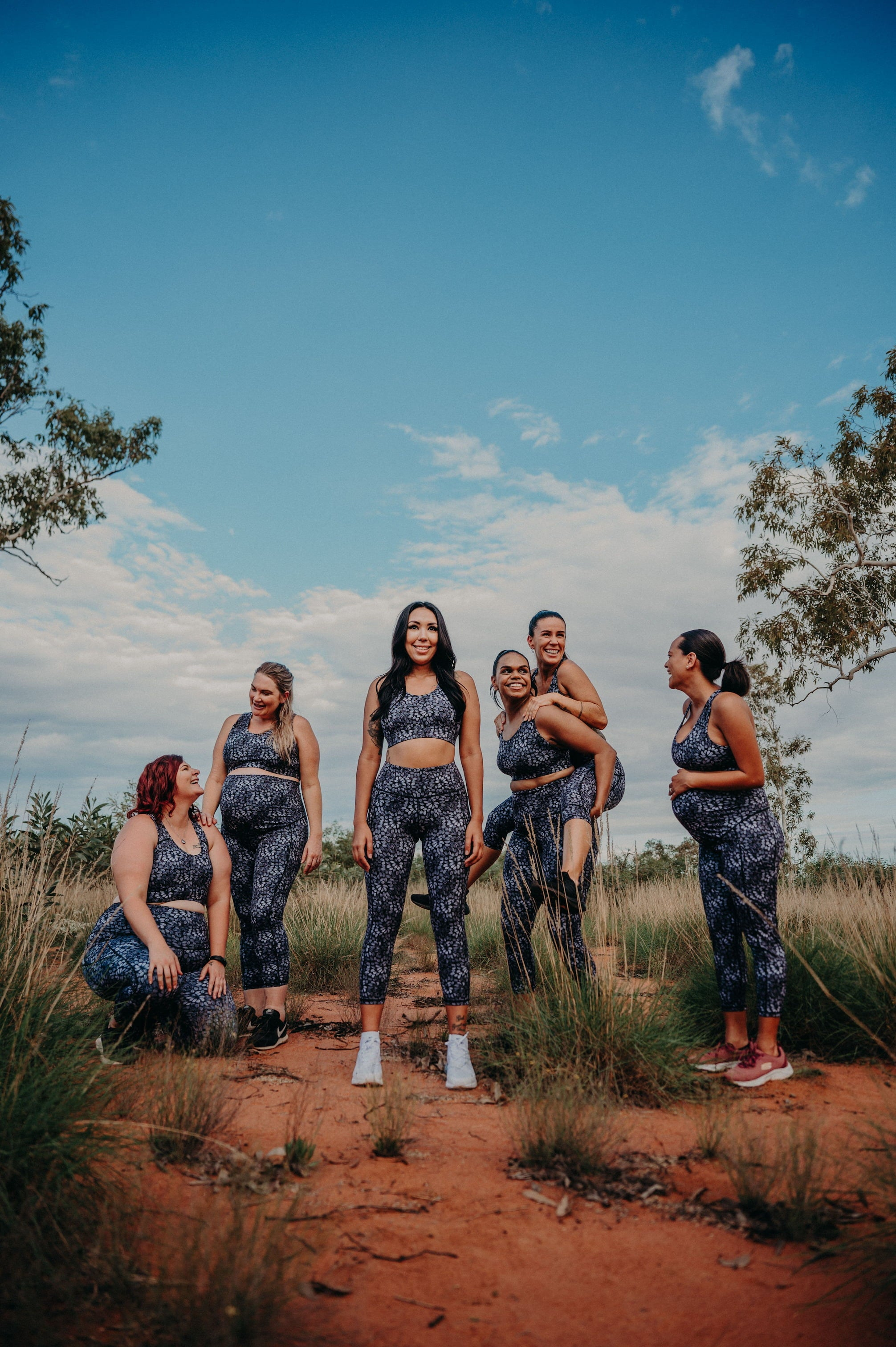 Indigenous activewear