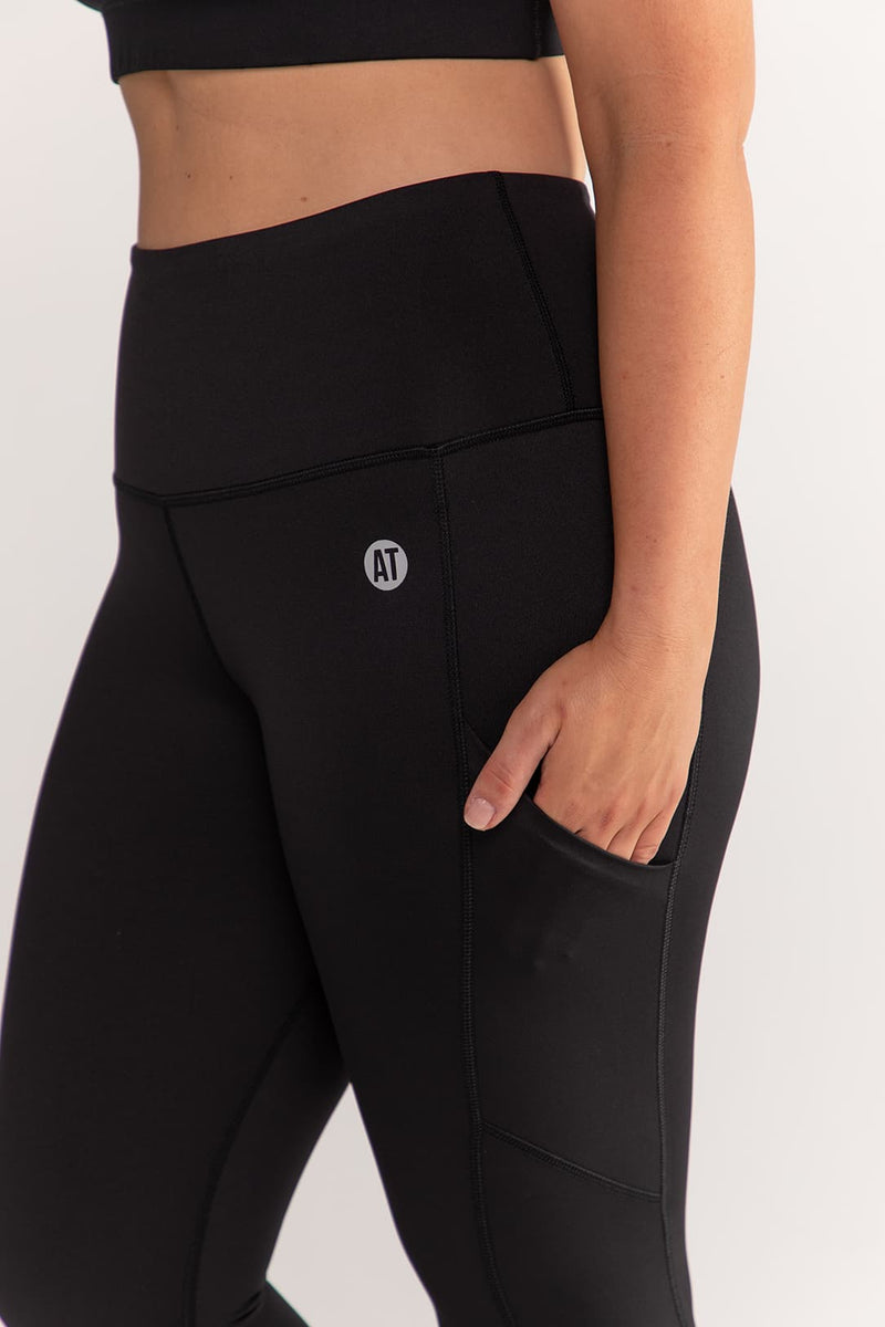 Smart Pocket 7/8 Length Tight - Black from Active Truth™