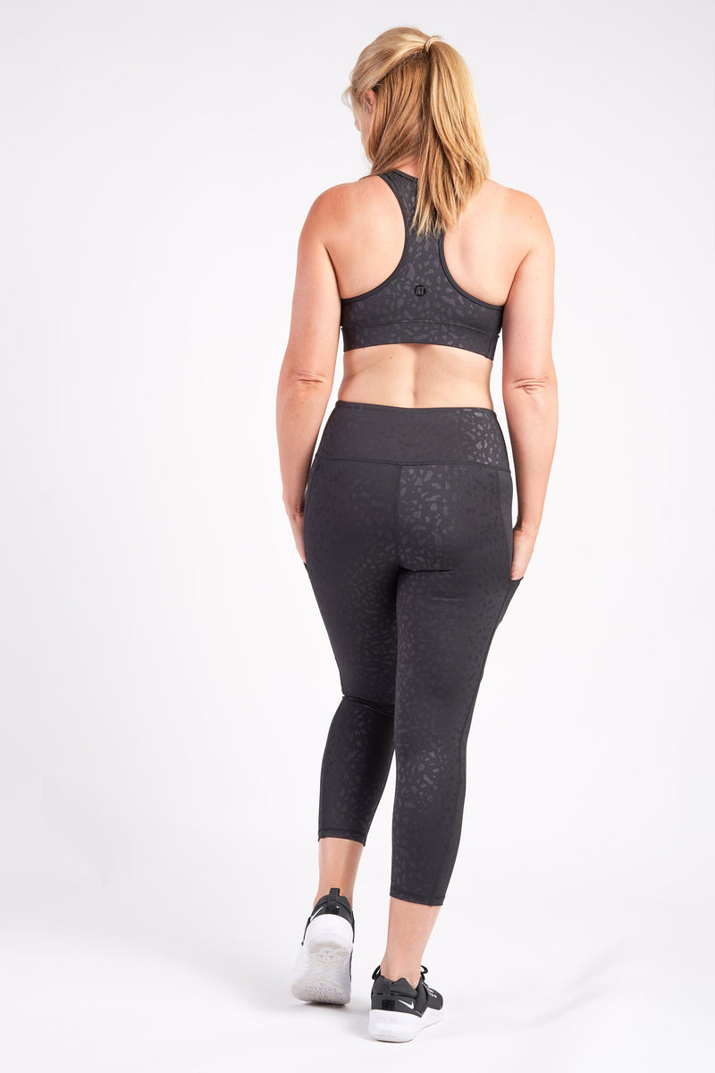 Smart Pocket 7/8 Length Tight - Geo Pebble from Active Truth™