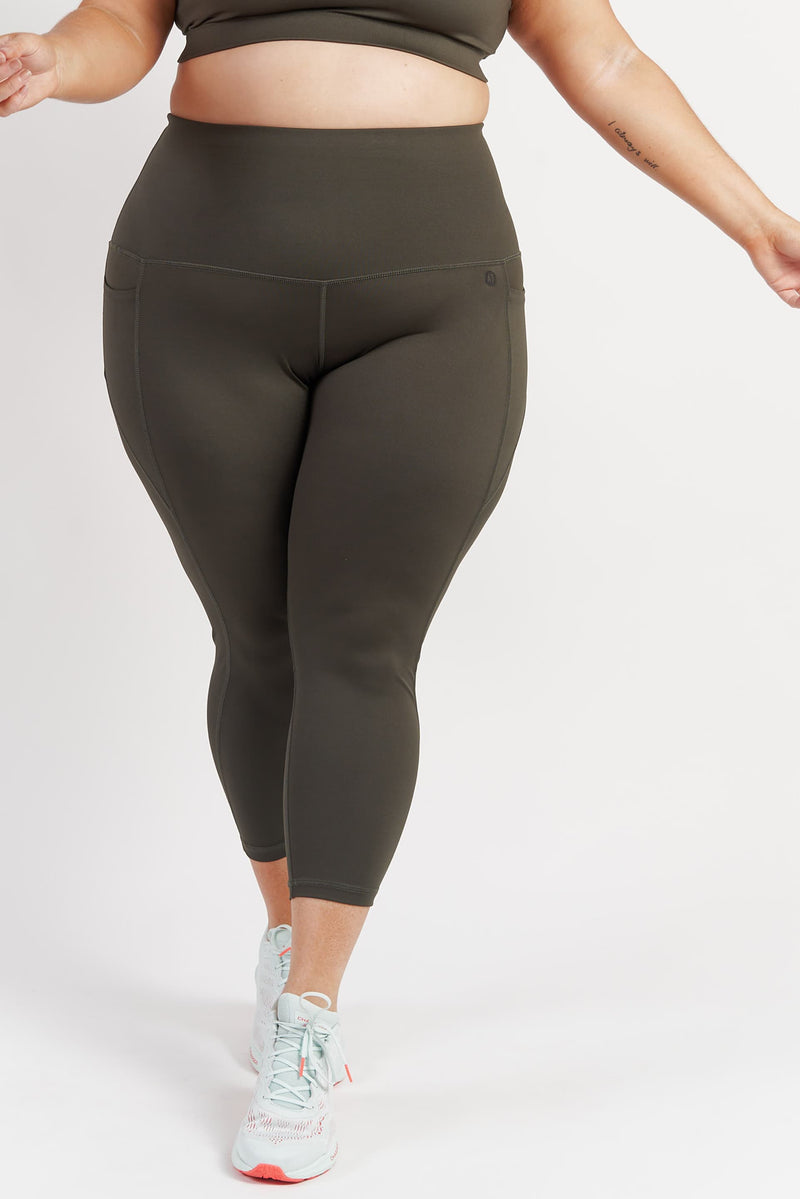 78length-gym-tights-khaki-plussize-front2