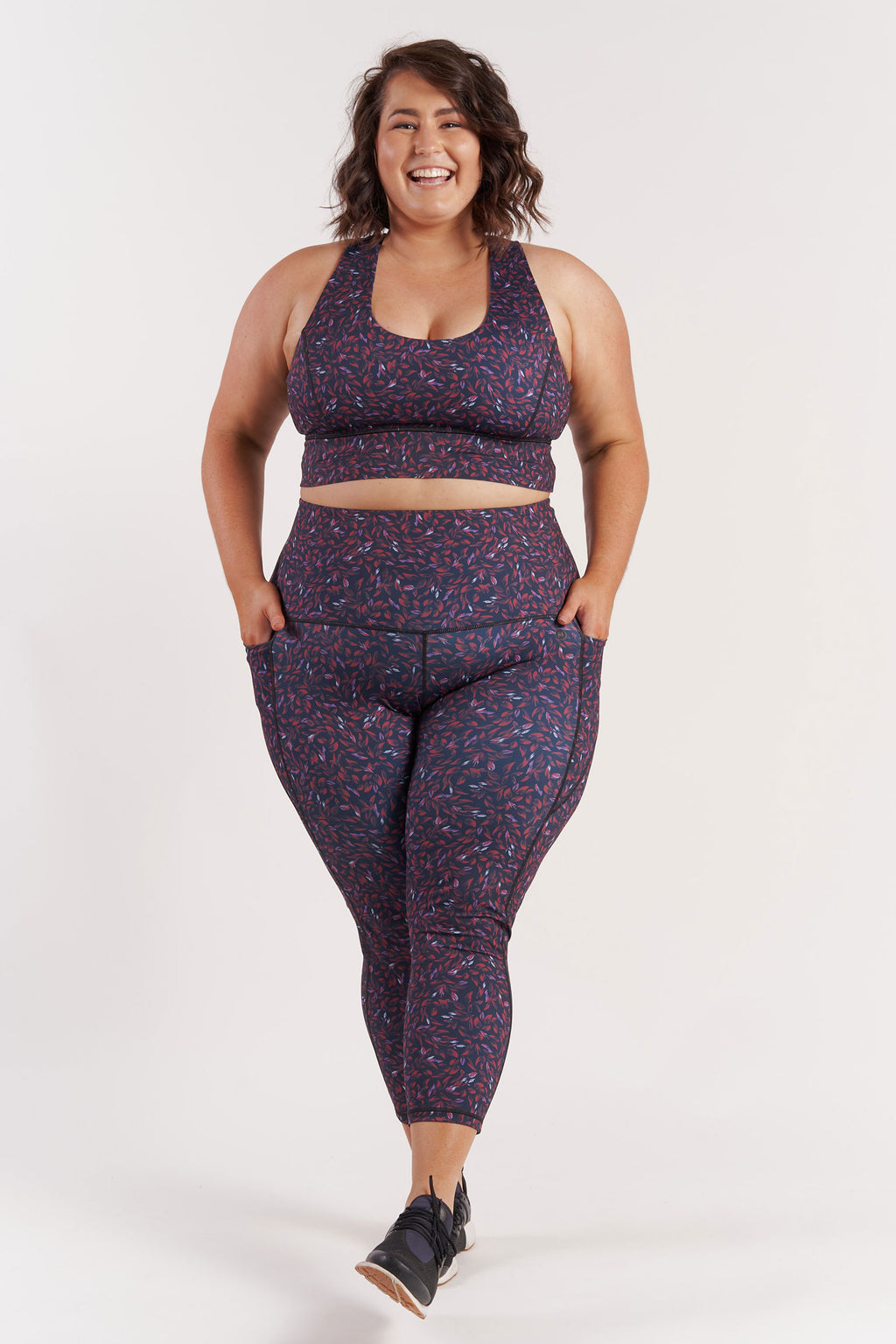 78length-gym-tights-leaf-plussize-front
