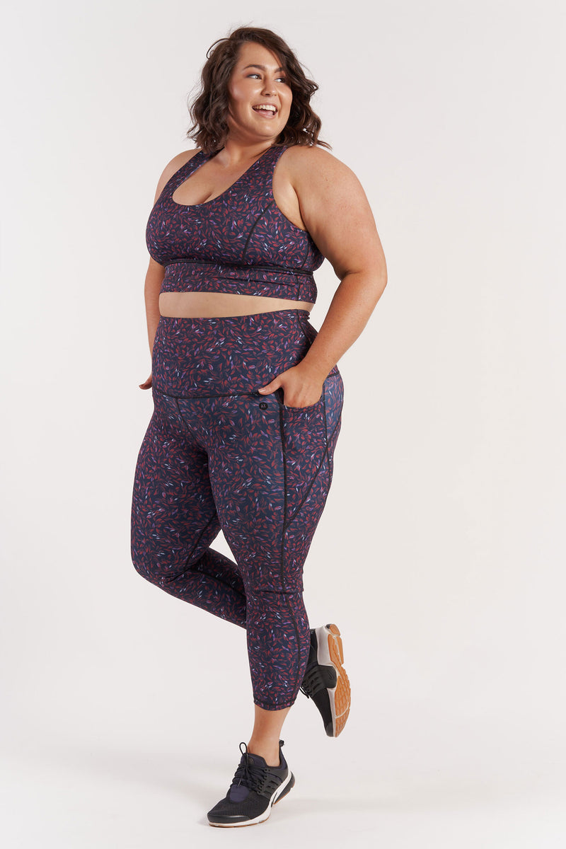 78length-gym-tights-leaf-plussize-side