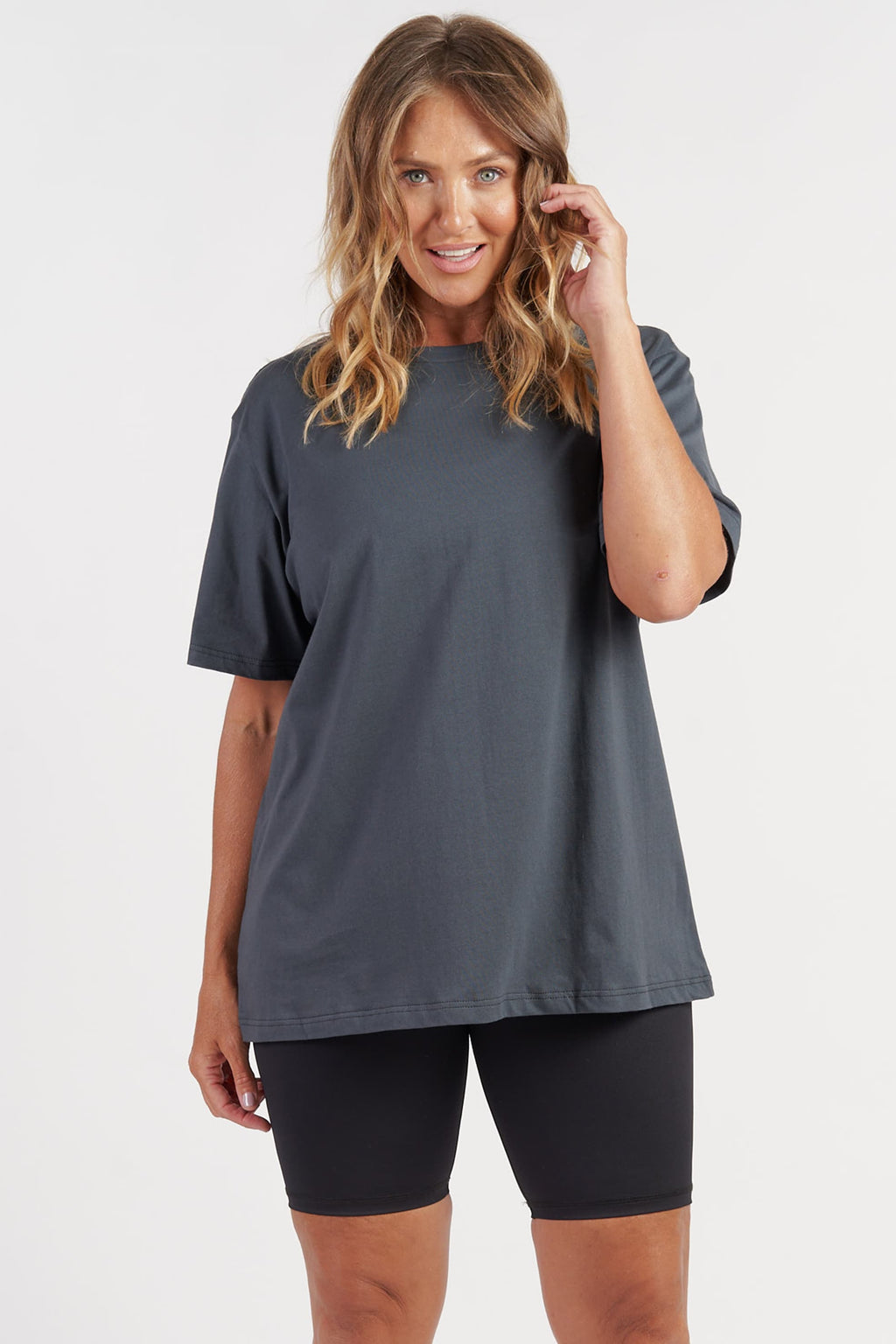 activewear-oversized-tee-charcoal-large-front