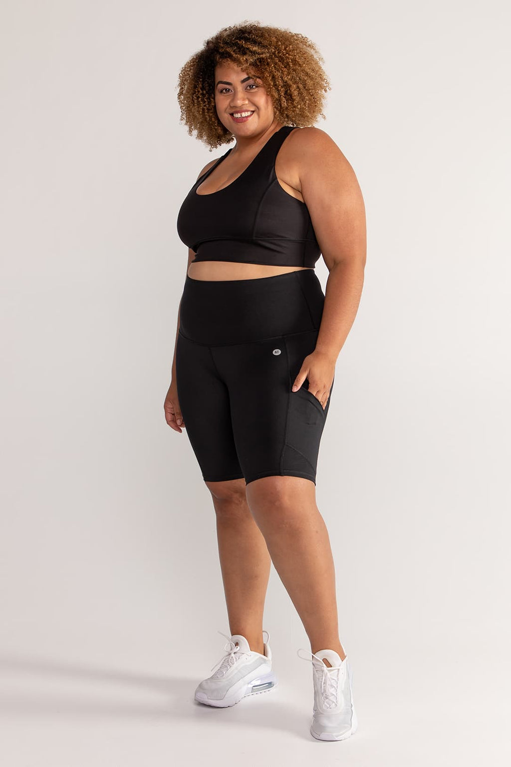 bike-short-compression-tights-black-plussize-front