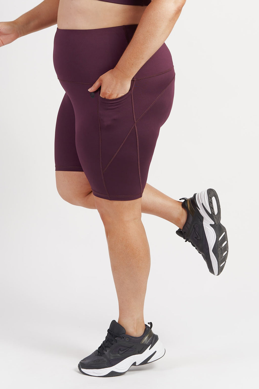 bike-short-pocket-tights-wine-plussize-side