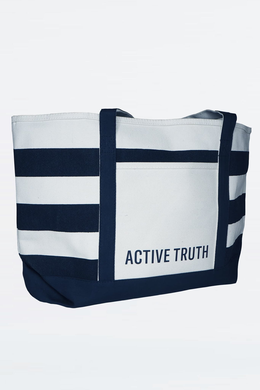 Cotton Beach Tote - Striped from Active Truth™