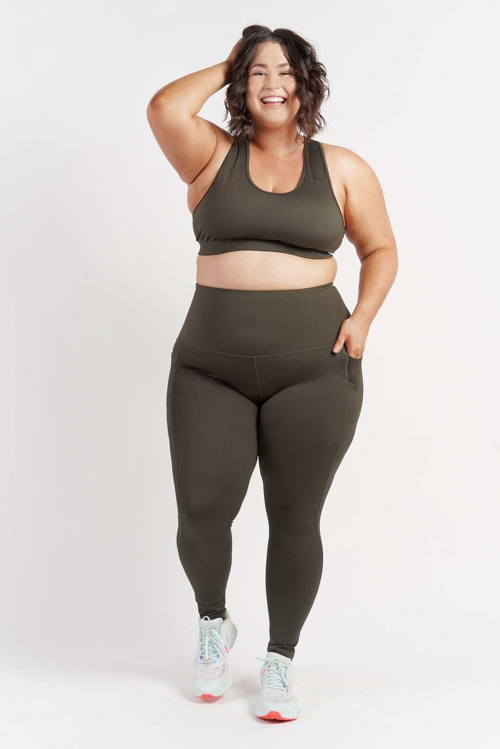 full-length-gym-tights-khaki-plussize-front