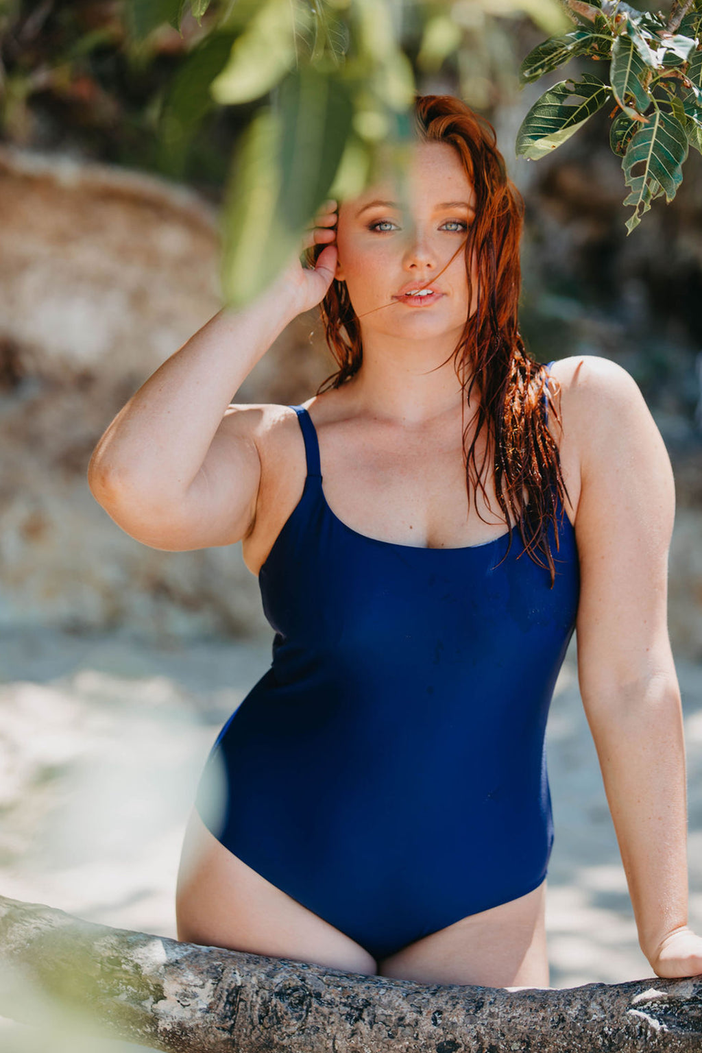 Bondi One Piece - Navy from Active Truth™