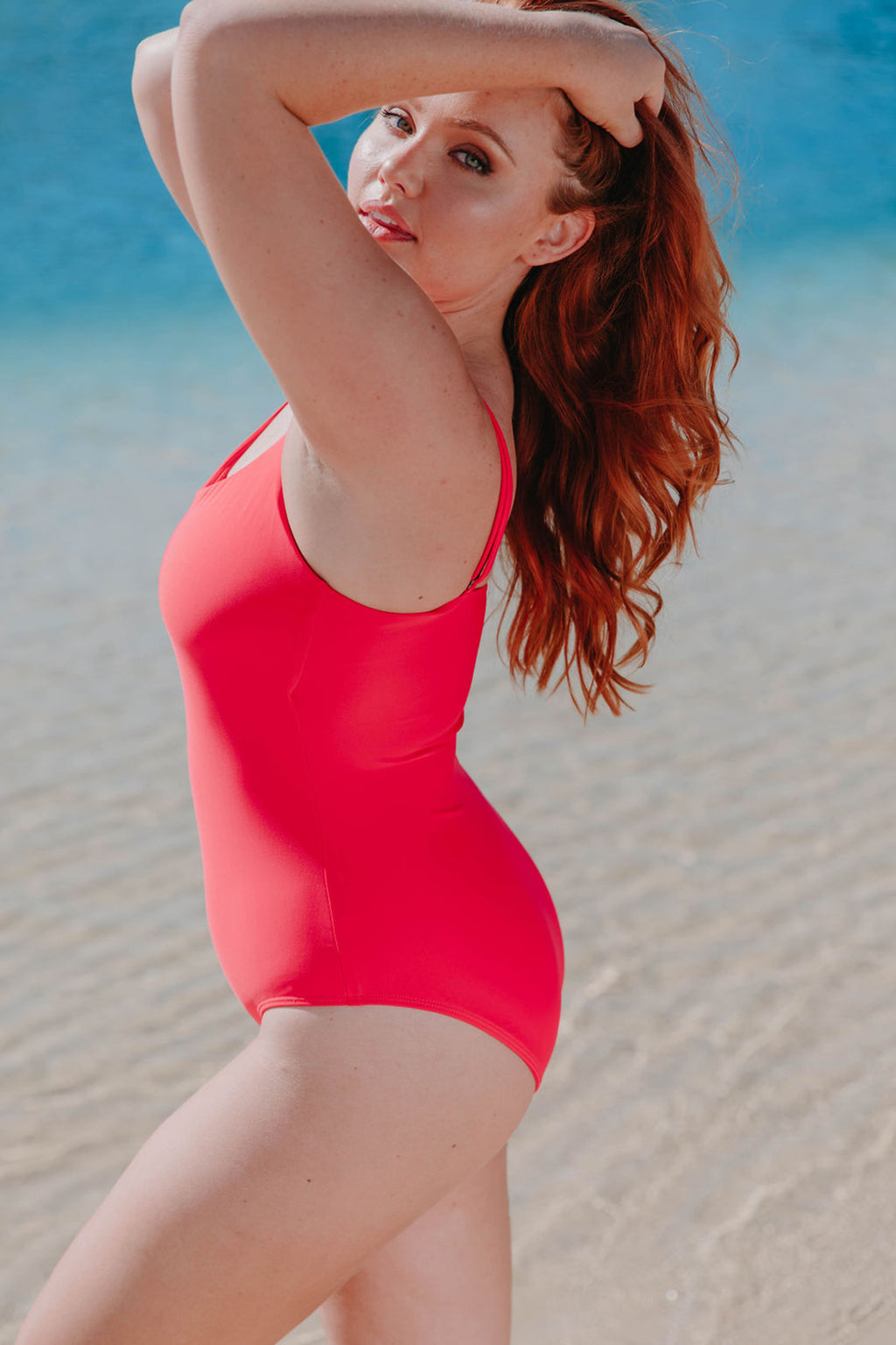 Bondi One Piece - Watermelon from Active Truth™