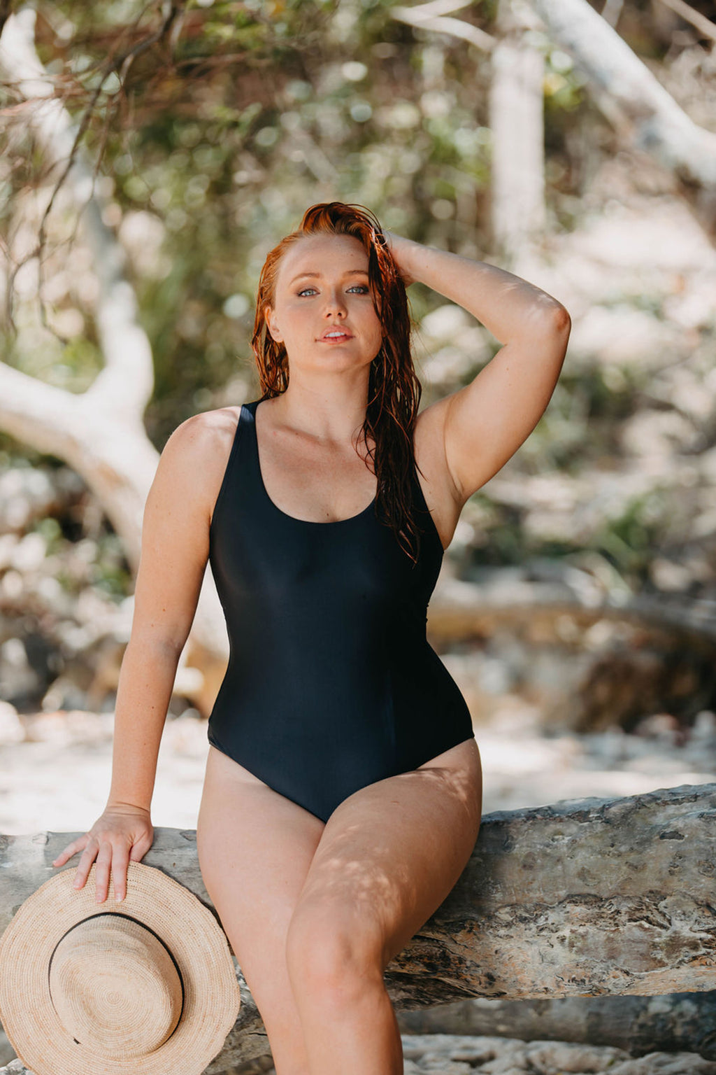 Noosa One Piece - Black from Active Truth™