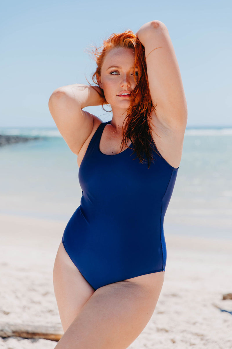 Noosa One Piece - Navy from Active Truth™