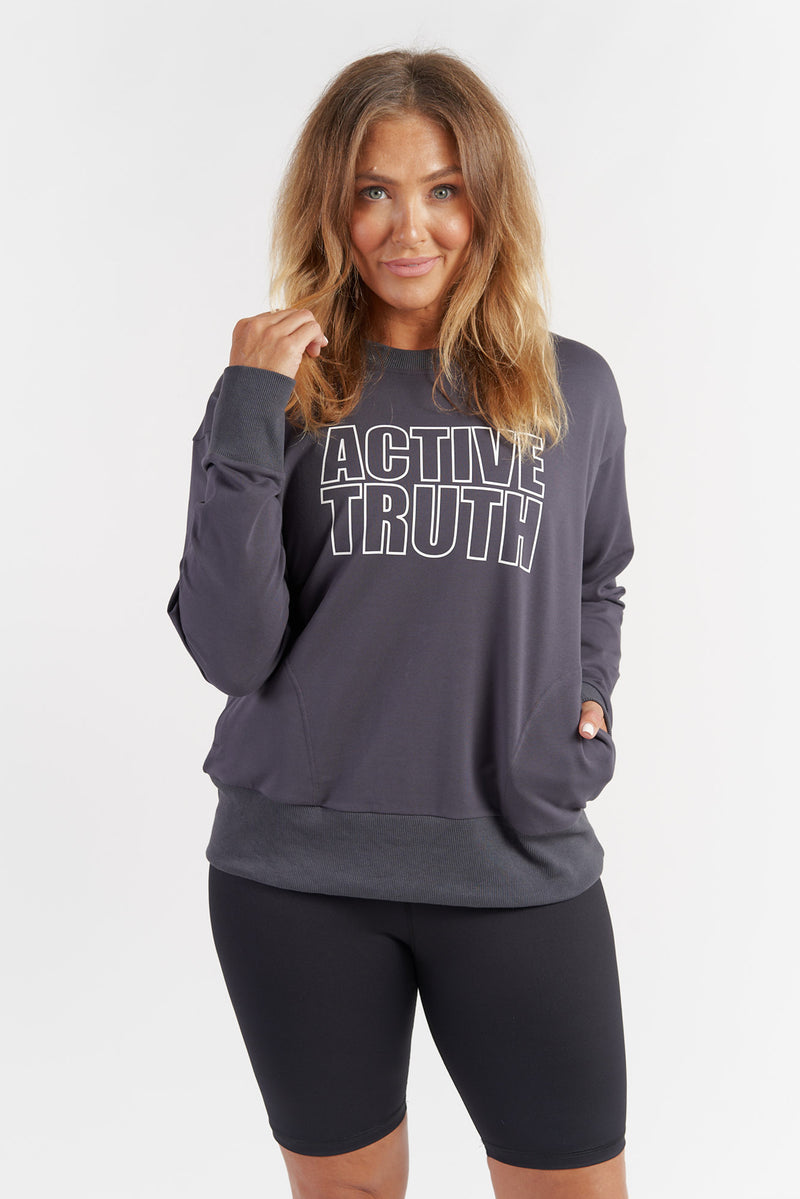womens-activewear-jumper-gym-top-charcoal-large-front