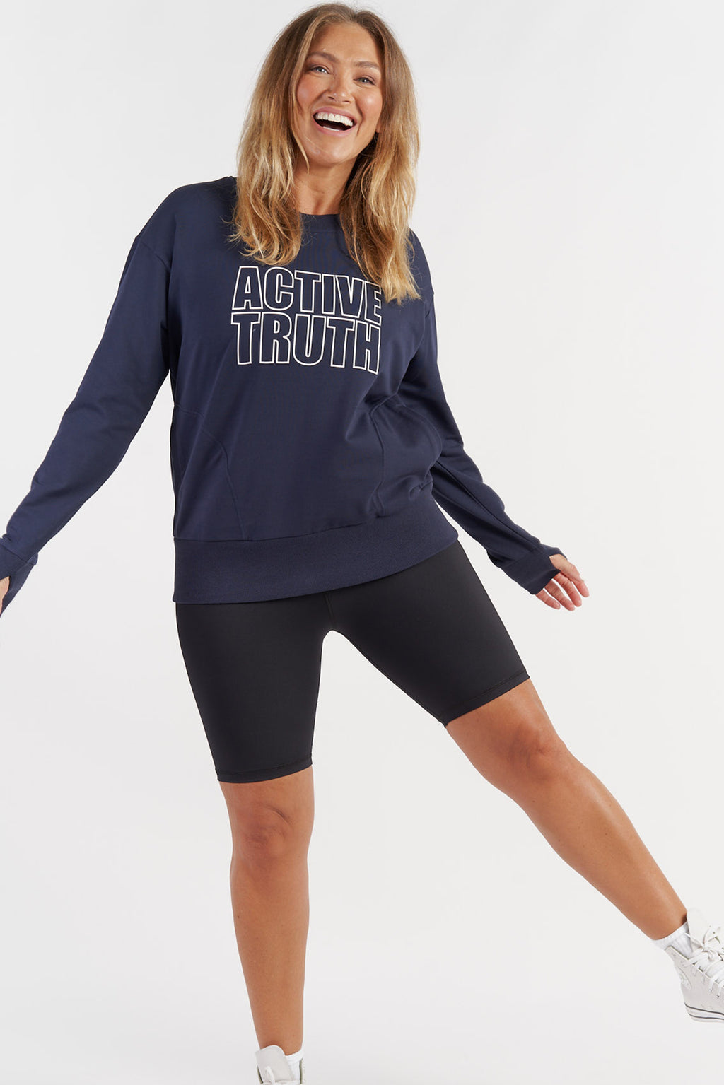 womens-activewear-jumper-gym-top-navy-large-front