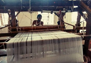 Visit to an old integrated handloom unit