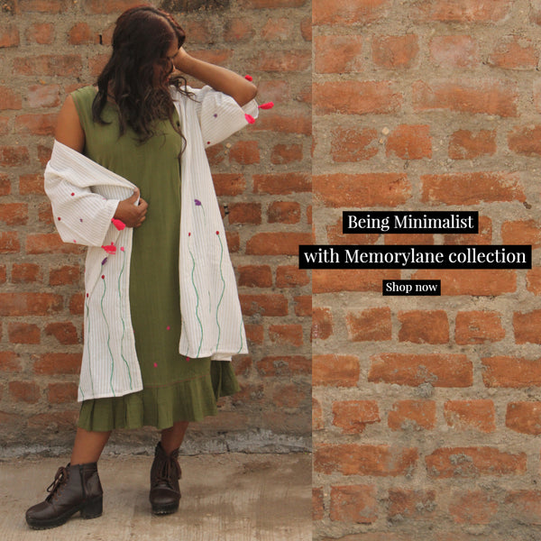 Memory Lane: Handwoven and hand embroidered cotton apparel for women