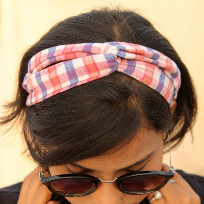 Handcrafted up-cycled textile hair accessories