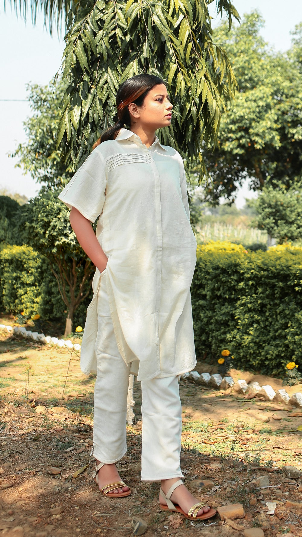 Shirt Tunic Masakali Set