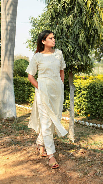 Masakali high slit tunic set