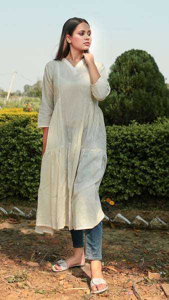 Kora flared masakali tunic online at bebaakstudio.com