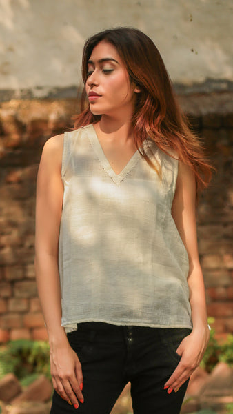 Kora V neck casual top
